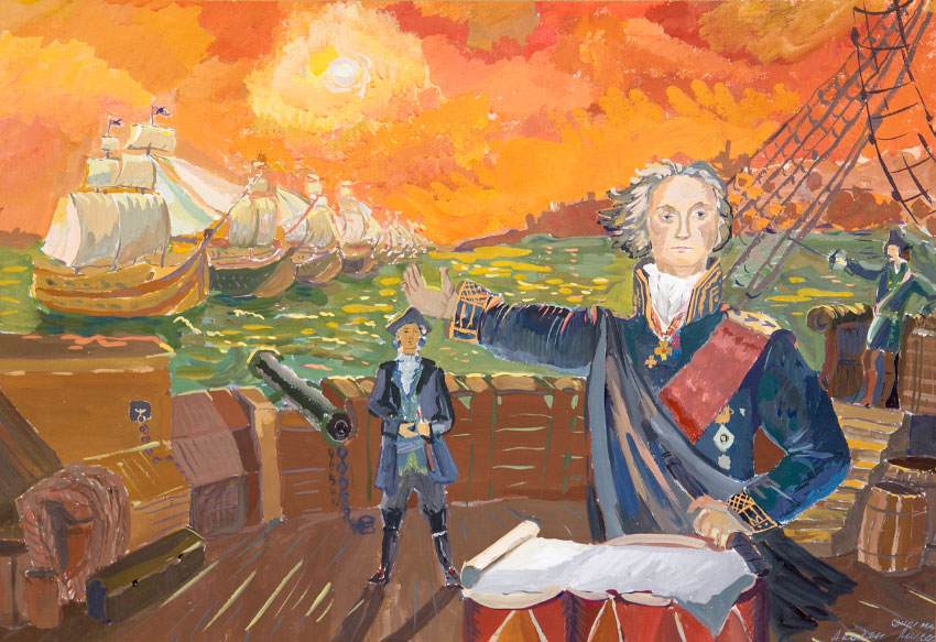 картинки адмирал ушаков в картинках красивых